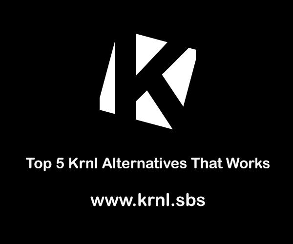 Krnl Alternatives
